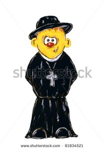 stock-photo-funny-hand-painted-priest-on-white-background-illustration-61934521