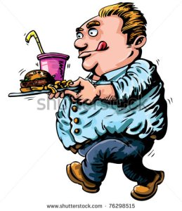 stock-vector-cartoon-of-overweight-man-with-fast-food-isolated-on-white-76298515